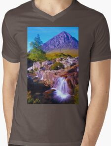 Tranquil valley Mens V-Neck T-Shirt