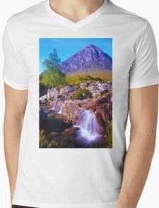 Tranquil valley Mens V-Neck T-Shirt