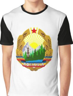 emblem of romania high resolution Graphic T-Shirt