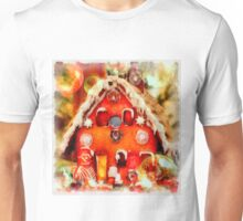 Christmas Gingerbread House Unisex T-Shirt