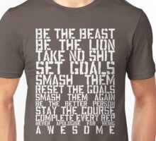 Training Rules - White Unisex T-Shirt