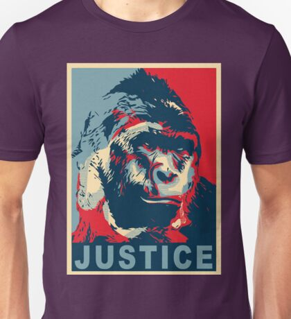 justice for harambe Unisex T-Shirt