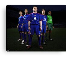 The Old United Canvas Print