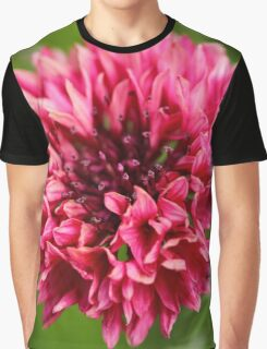 Vibrant pink bloom Graphic T-Shirt