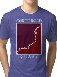gorge road retro Tri-blend T-Shirt