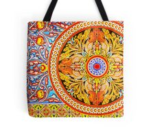 Buddhist Temple Painting Tote Bag