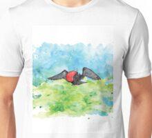 Frigate bird in watercolour Unisex T-Shirt