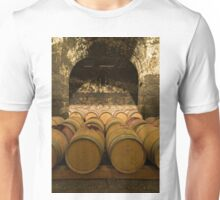 Oak Wine Barrels in Cellar Unisex T-Shirt