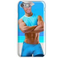 Sexy sailor in provocative outfit  iPhone Case/Skin