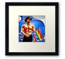 Gay Pride Framed Print
