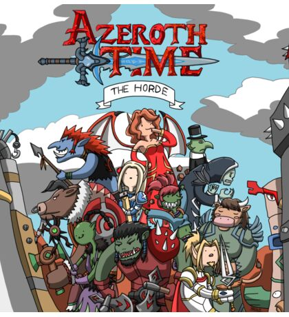 Azeroth time - The Horde Sticker