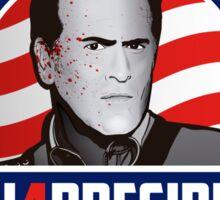 Ash 4 President Sticker