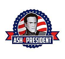 Ash 4 President Photographic Print