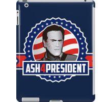 Ash 4 President iPad Case/Skin