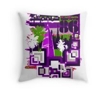 dubai landmark Throw Pillow