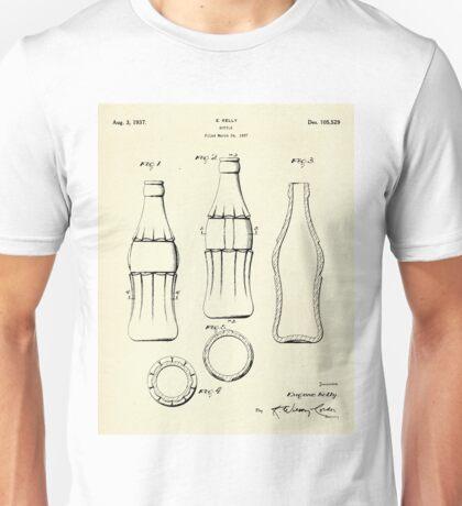 Coca Cola Bottle-1937 Unisex T-Shirt