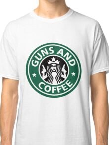 guns and coffee RC Classic T-Shirt