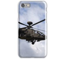 British Army Air Corps WAH-64D Longbow Apache AH1 Helicopter iPhone Case/Skin