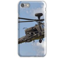 British Army Air Corps Apache AH1 Helicopter iPhone Case/Skin