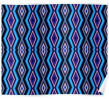 Be Bold (Repeating Pattern) Poster