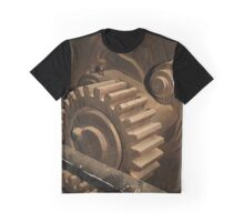 Vintage Cog in the Machine by patjila Graphic T-Shirt