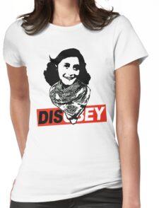 Anne Frank's Kaffiyeh Womens Fitted T-Shirt