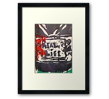 Does the TV show REAL LIFE? Framed Print