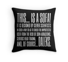 Coupling Quote Pillow 1 Dark Throw Pillow