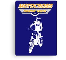 Motocross Trophy Wife - Girl Rider Canvas Print