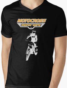 Motocross Trophy Wife - Girl Rider Mens V-Neck T-Shirt