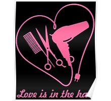 Love is in the hair Poster