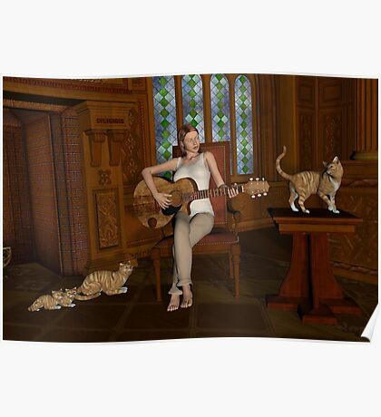 A Song For Her Cats Poster