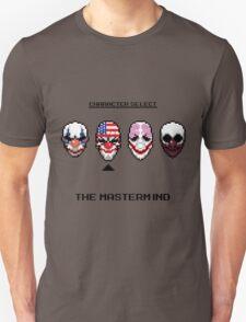 Masking up - The Mastermind Unisex T-Shirt