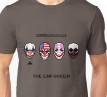 Masking up - The Enforcer Unisex T-Shirt