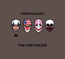 Masking up - The Enforcer Unisex T-Shirt