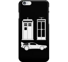 Time to Travel (White) iPhone Case/Skin