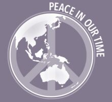 Peace In Our Time Kids Tee