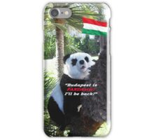Special PANDA Souvenir directly from Budapest, Hungary iPhone Case/Skin