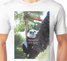 Special PANDA Souvenir directly from Budapest, Hungary Unisex T-Shirt