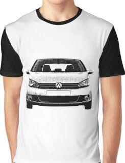 VW Golf MK6 Front Graphic T-Shirt