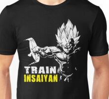 TRAIN INSAIYAN (VEGETA HARDCORE SQUAT - LEG DAY) Unisex T-Shirt