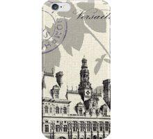 Paris History iPhone Case/Skin