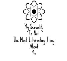 "Orphan Black ""Sexuality"" quote Photographic Print"