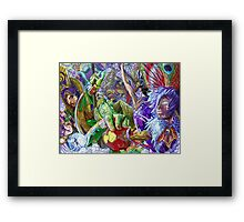 Angels Are Coming Framed Print