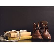 Peter Pan Shoes Still Life Photographic Print