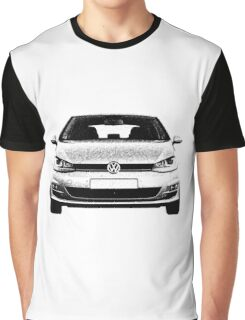 VW Golf MK7 Front Graphic T-Shirt