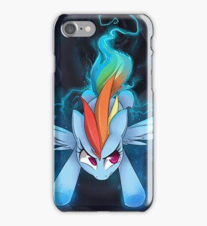 Rainbow Dash Attack iPhone Case/Skin