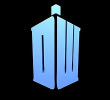 Doctor Who DW Logo  by ninagi