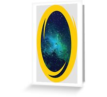 Portal to Space Greeting Card