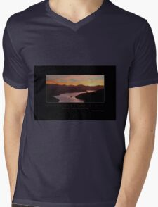 Sunset Sky Mens V-Neck T-Shirt